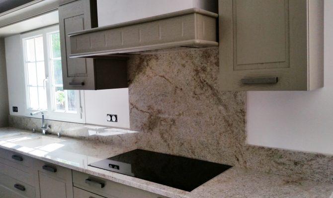 Cuisine Granit beige - Stoneline : Granitier Agenceur